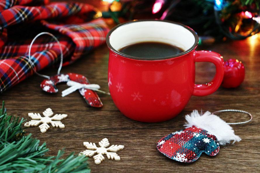 おうちクリスマスにおうちカフェブレンド