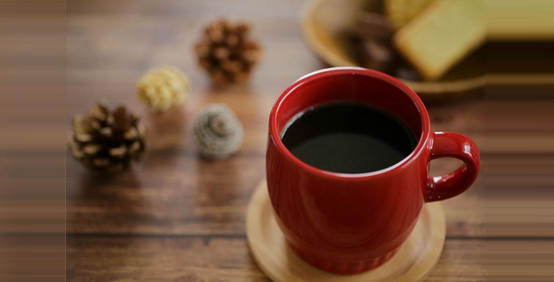 冬はホットコーヒー